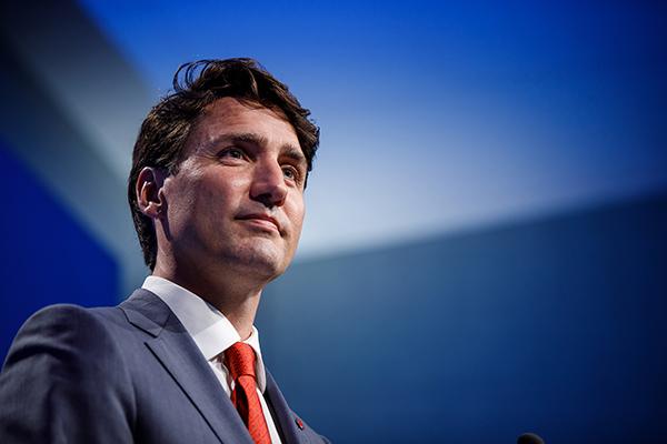Canada PM Justin Trudeau