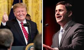 Donald Trump and Arizona Governor Doug Ducey