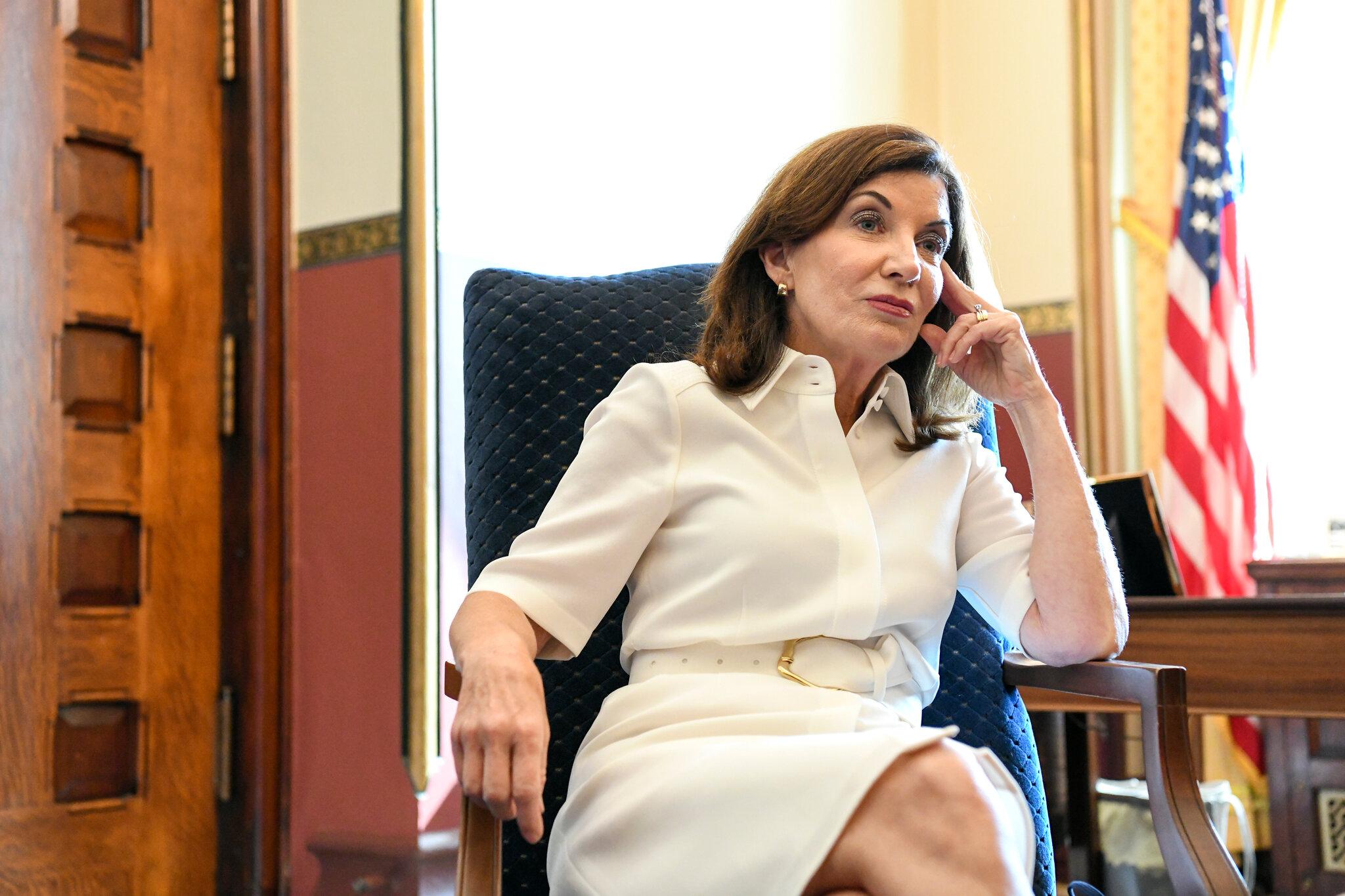 New York Governor Kathy Hochul