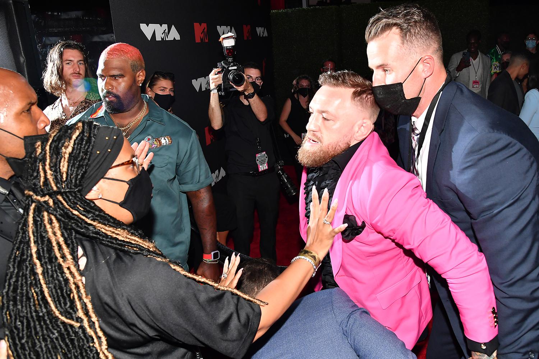 Conor McGregor and Machine Gun Kelly
