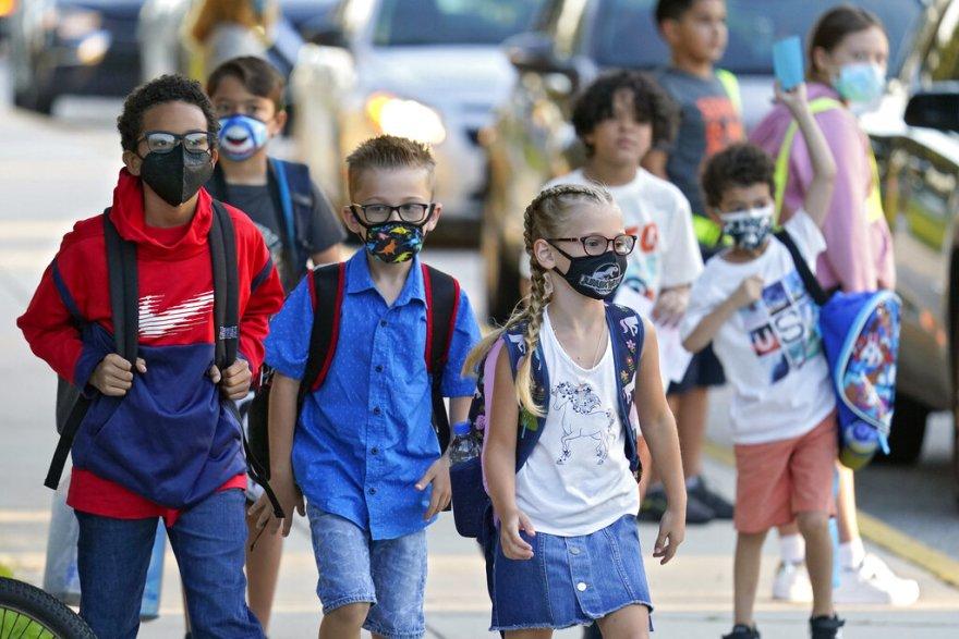 Students going to school in Pennsylvania