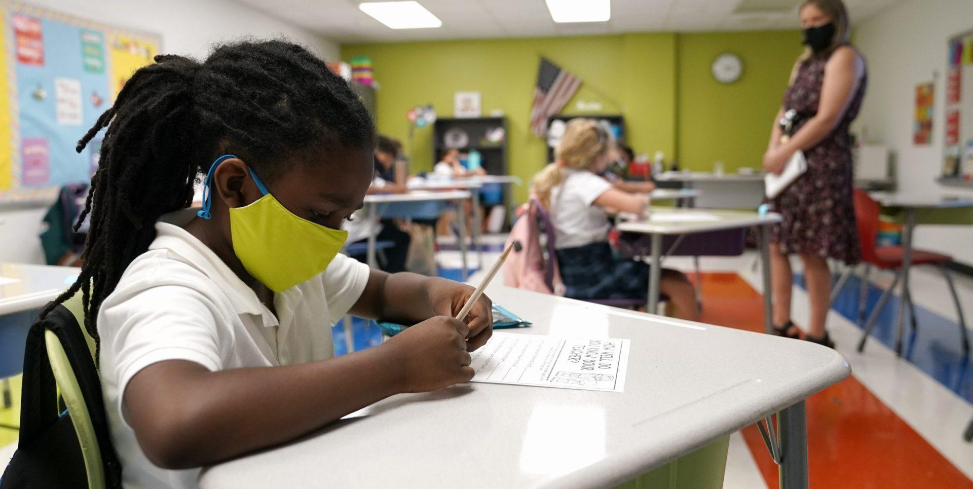 Students in Pennsylvania School